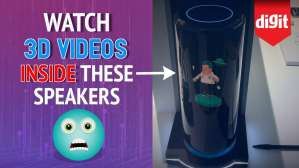 Watch 3D Video in These Speakers from LG | Cylinder Project | First Look | Digit.in