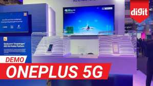 OnePlus 5G | Live 5G Real Time Multiplayer Cloud Gaming Demo by OnePlus | Digit.in
