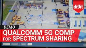 Coordinated Multipoint (CoMP) Technology for 5G Spectrum Sharing | Demo by Qualcomm | Digit.in