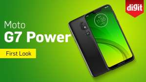 Moto G7 Power | 5000mAh Battery, ₹13,999 | First Look | Digit.in