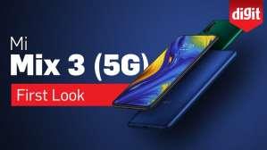 Xiaomi Mi Mix 3 5G   First Look   Digit.in