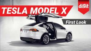 Tesla Model X | First Look | Digit.in