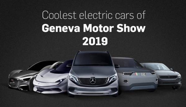 Coolest electric cars of Geneva Motor Show 2019