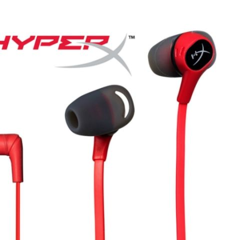 HyperX Cloud Earbuds earphones launched in India at Rs 5,990