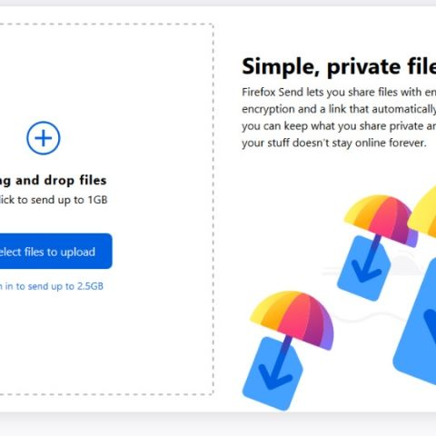 Firefox Send is an end-to-end encrypted file sharing service that