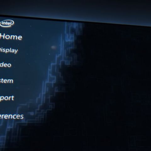 Intel's revamped graphics control panel teased, could be unveiled at GDC 2019