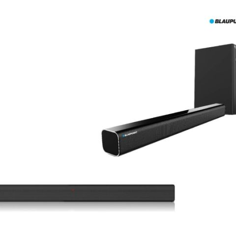 Blaupunkt SBW-100, SBW-02 wired soundbars launched in India starting at Rs 12,990