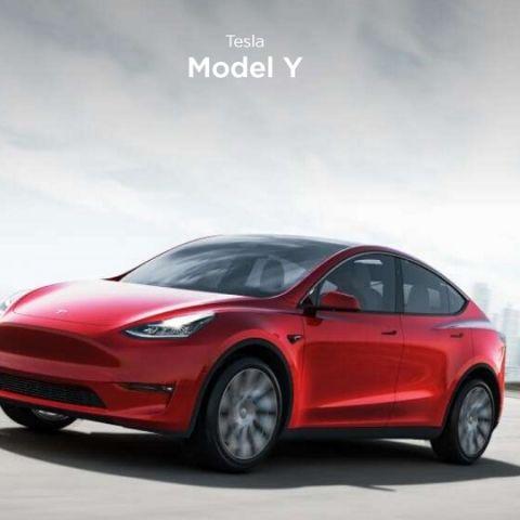 Tesla Model Y announced