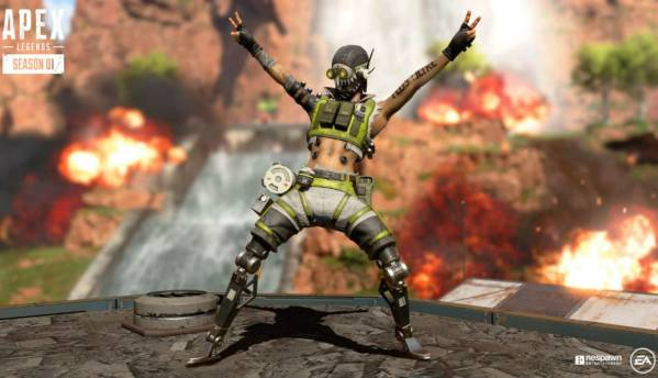 Apex Legends Season 1 update brings Battle Passes and new playable character Octane