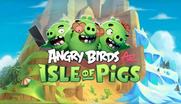 Angry Birds AR mobile game coming soon