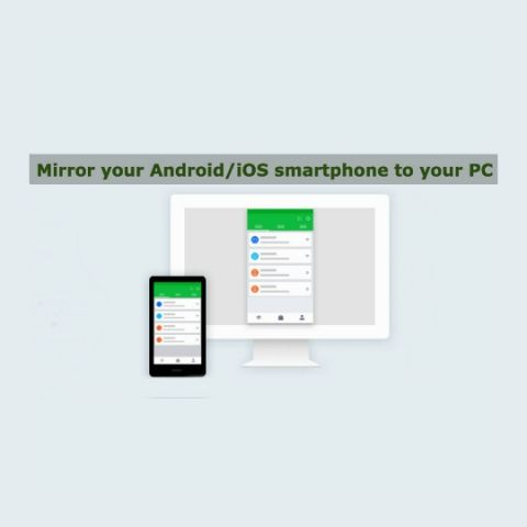 How to cast android mobile phone screen to pc laptop windows 8.1