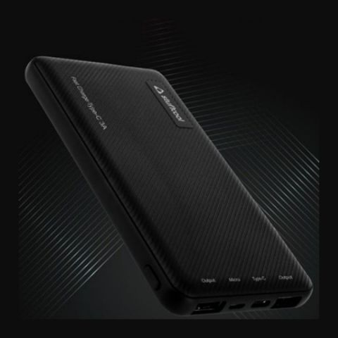 Stuffcool 1062 10000 mAh power bank with Type-C 3A input/output and Type-C to C cable launched in India