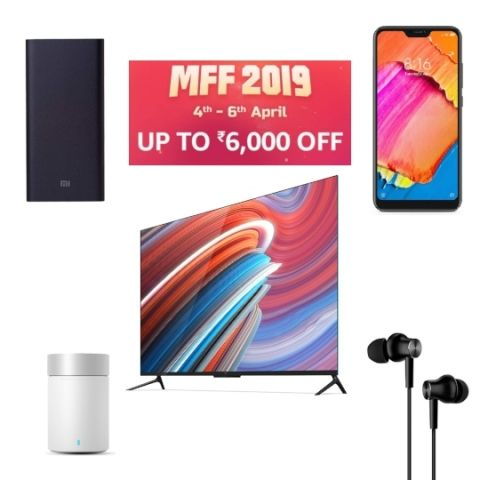 Mi Fan Fest 2019: Deals on Xiaomi Redmi 6 Pro, Mi LED TV 4 PRO, Mi power bank, speaker and more