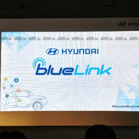 Hyundai Blue Link in-car connectivity solution announced in India, to debut in Hyundai Venue