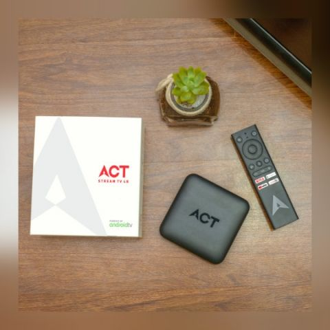 ACT Stream TV 4K based on Android launched by ACT Fibernet, combines