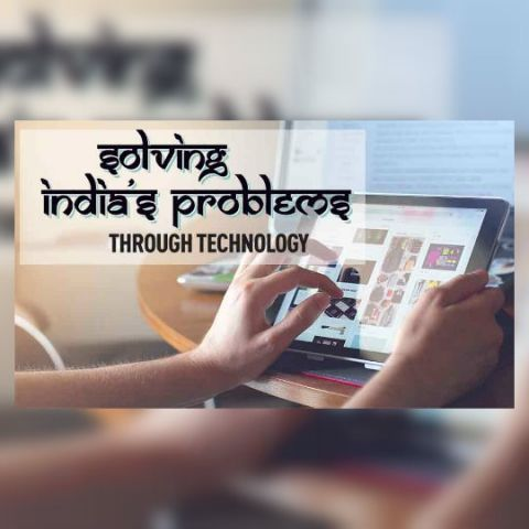 Solving India's problems through technology
