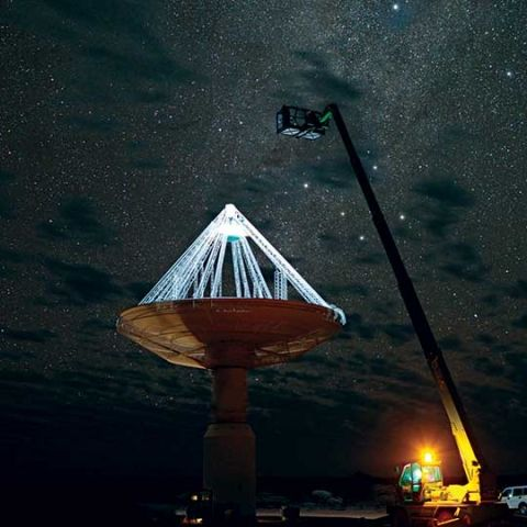 Square Kilometre Array: A continent sized radio telescope