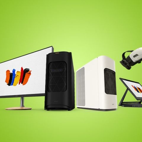 Acer announces ConceptD lineup of desktops, notebooks and monitors for creators