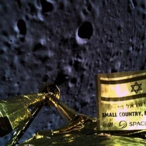 Israeli spacecraft Beresheet crashes on the Moon