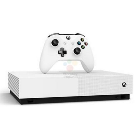 A disc-less Xbox One S could launch on May 4: Report