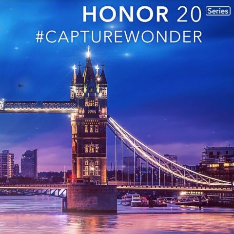 Honor 20 launching on May 21 in London, could feature Quad camera setup