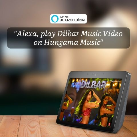 Hungama Music introduces Music Video feature on Amazon Echo Show