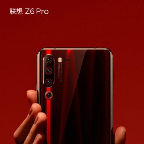 Lenovo Z6 Pro leaked hands-on image, videos show rear quad camera setup