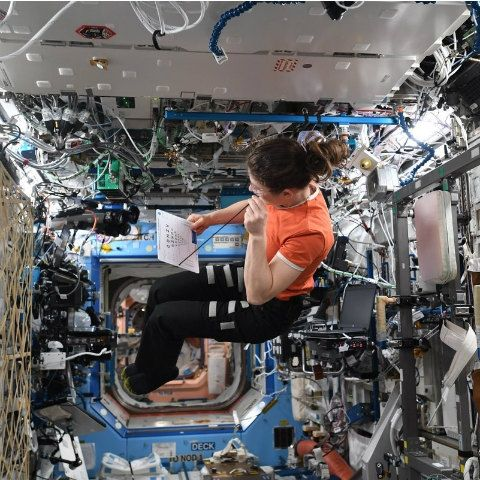 Christina Koch on her way to set longest spaceflight record by a woman NASA astronaut