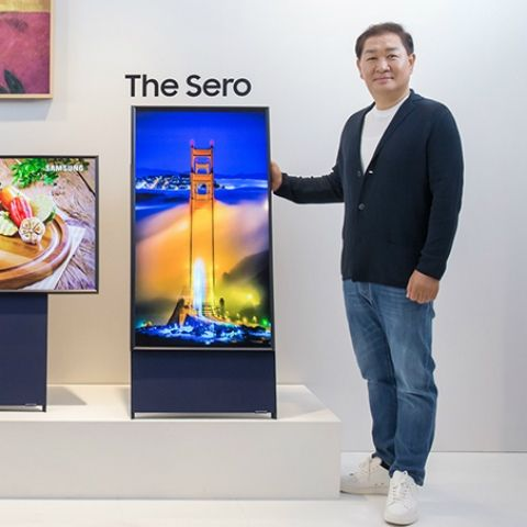 Samsung to launch vertical QLED TV next month to target smartphone content consumers