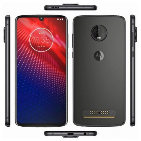 Moto Z4 leaks in entirety, to come with waterdrop notch