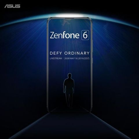 Asus Zenfone 6 launch confirmed for May 16