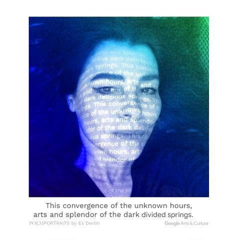 Google's new collaborative project auto-generates poems for your portraits