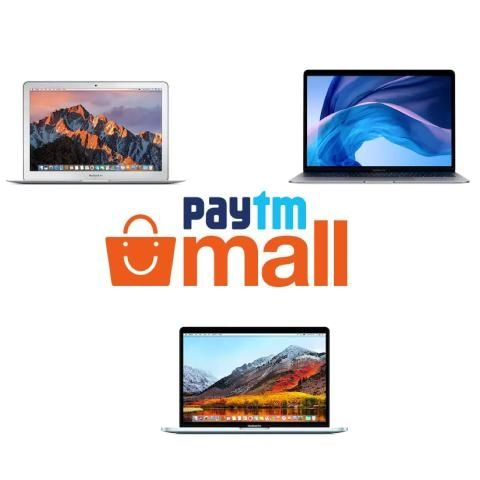 Paytm Mall offers cashback on select Apple MacBook models