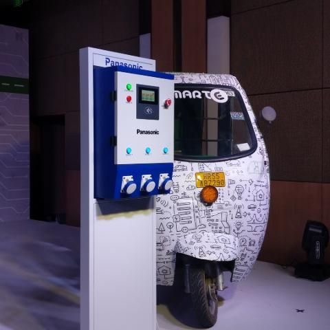 Panasonic announces Nymbus EV charging solution for India