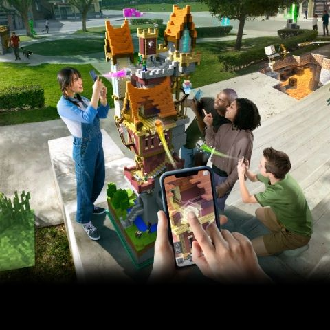 Minecraft Earth AR released for Android and iOS, marking 10th anniversary of the sandbox game