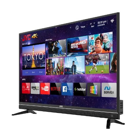 JVC 43N7105C 4K Smart LED TV with Quantum Backlit Technology launched at Rs 24,999