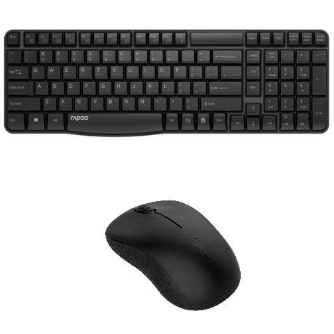 Rapoo launches its wireless keyboard and mouse combo priced at Rs 1599