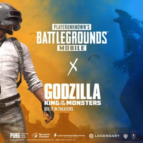 PUBG Mobile teams up with Godzilla: King of the Monsters to announce a new crossover