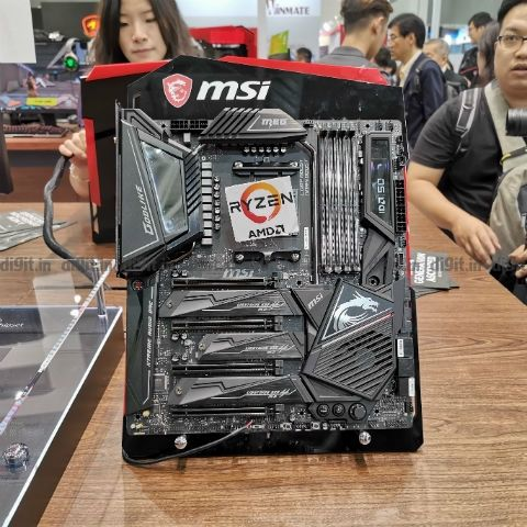 MSI at Computex 2019: X570 series motherboards, GT76 Titan gaming laptop,  P65 Creator laptop and WS65 mobile workstation launched