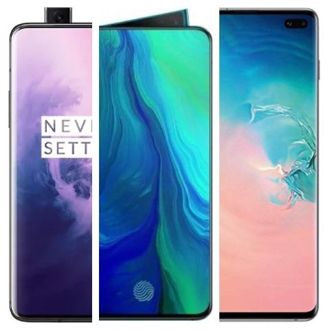 Latest smartphones with 8GB to 12GB RAM