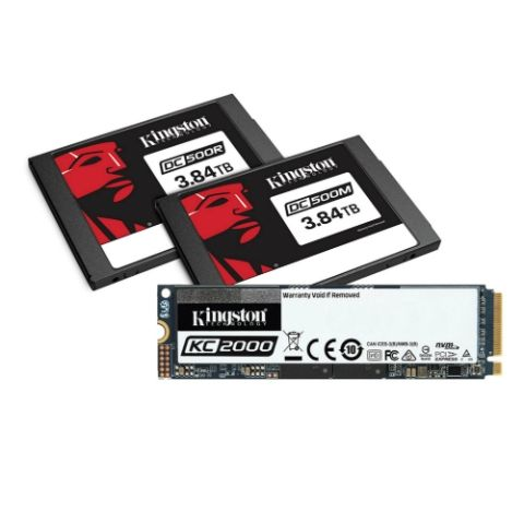 Kingston announces new SSDs for consumer and enterprise users