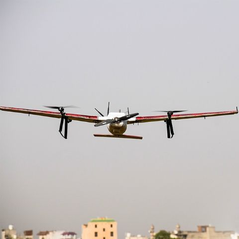 Zomato tests drone delivery in India, successfully carries 5kg payload over 5kms at 80kmph
