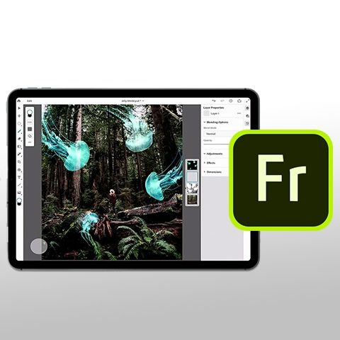 Adobe Fresco with Live Brushes coming to iPad later this year