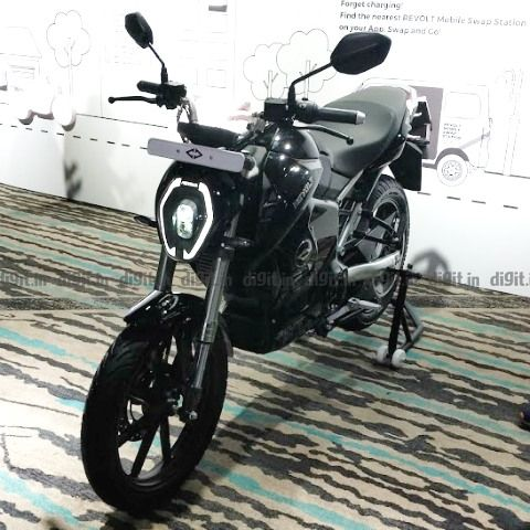 Revolt announces RV400 electric motorcycle in India