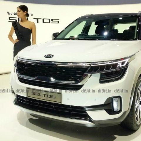 Kia Seltos subcompact crossover announced in India