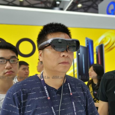 Vivo debuted a pair of AR glasses in Shanghai