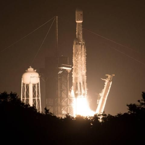 NASA space technology missions launched on SpaceX Falcon Heavy rocket