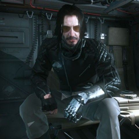 A Keanu Reeves Mod For Metal Gear Solid V