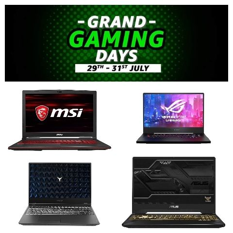 Best Gaming Laptop Deals In The Amazon Grand Gaming Days Sale It Zone