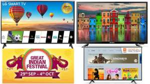 Amazon Great Indian Festival Sale: Deals on 32-inch TV's
